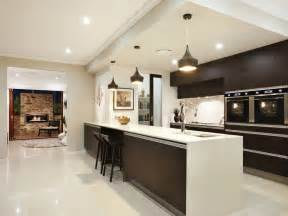 Kitchen Ideas by Modern Galley Kitchen Design Using Granite Kitchen Photo