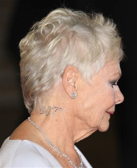 judy dench hairstyle front and back judy dench hairstyle front and back