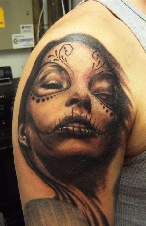 day of the dead tattoo for men day of the dead tattoos designs ideas and meaning