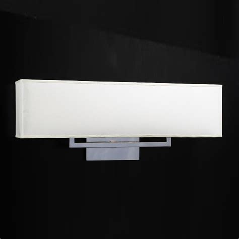 Plc Lighting 18198 Pc Off White Fabric Shade Dream Bathroom Vanity Light Shades
