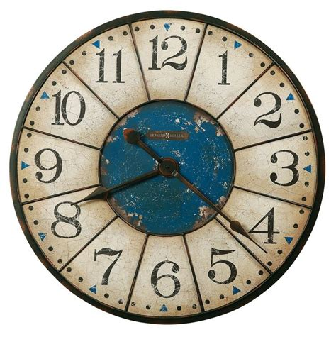 rustic crackle face oversize wall clock transitional 45 best images about cool clocks on pinterest cool
