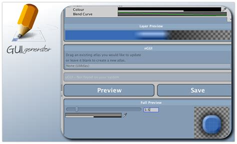 unity c layout gui generator create your own custom skins for ngui