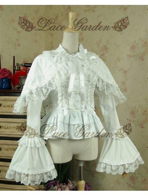 Olita Blouse white sweet rococo blouse for devilnight co uk
