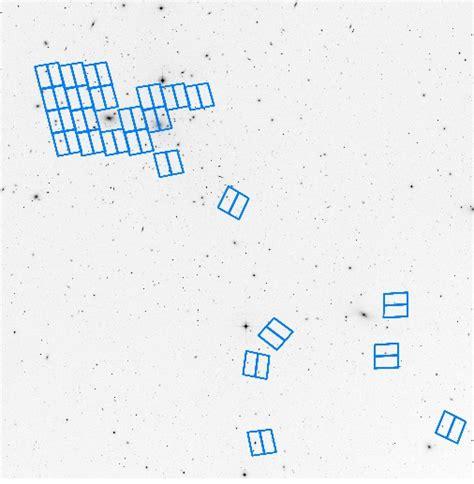 coma cluster treasury survey image gallery