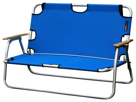sport two person folding aluminum chair
