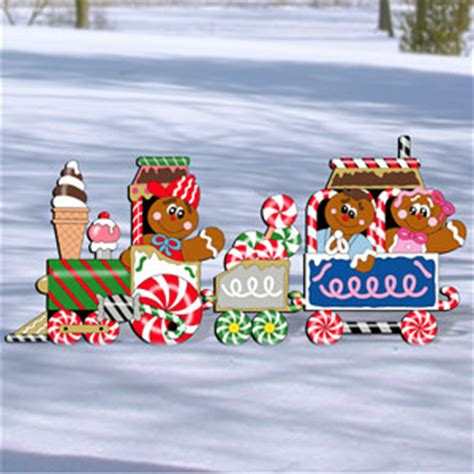 Gingerbread Lawn Decorations by Woodcrafting Plans And Patterns Yard Art Patterns Tools