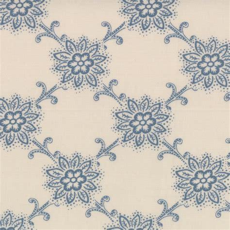 pattern design francais blue floral pattern on blanche le bouquet fracais by
