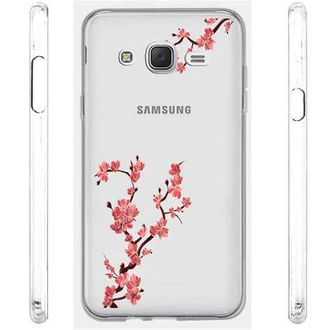 Soft Flower Samsung J7 J700 Bunga Samsung Galaxy J7 for samsung galaxy j7 j700 2015 version design clear tpu