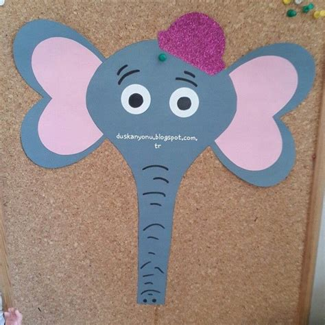 elephant template for preschool elephant craft idea for 3 crafts and worksheets