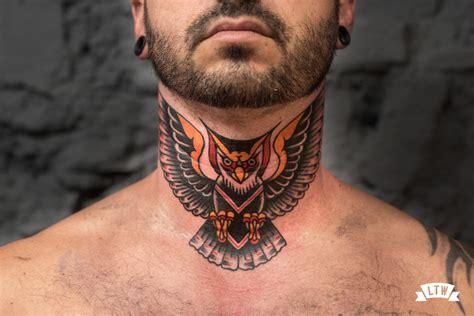 vargas tattoo neck b 250 ho tatuado en el cuello por dennis a color