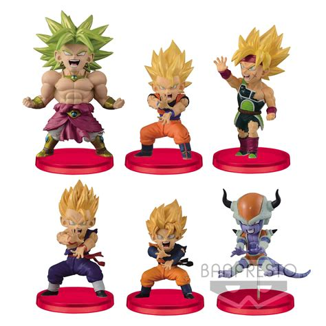 Wcf Battle Of Saiyan Vol 4 Goku z wcf chibi figures 8 cm assortment battle of