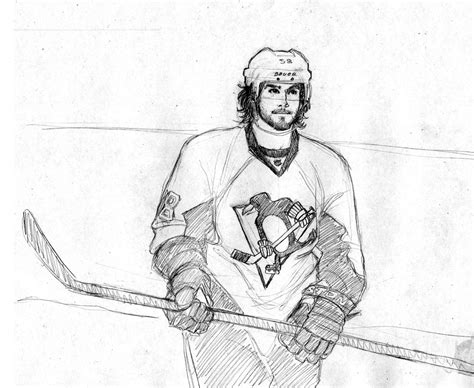 sidney crosby free coloring pages