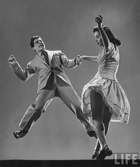swing jazz kaye popp stanley catron demonstrating a step of the lindy