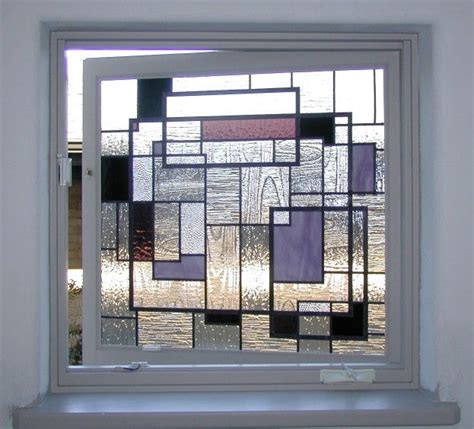 stained glass bathroom window designs stained glass stained glass geometric pinterest