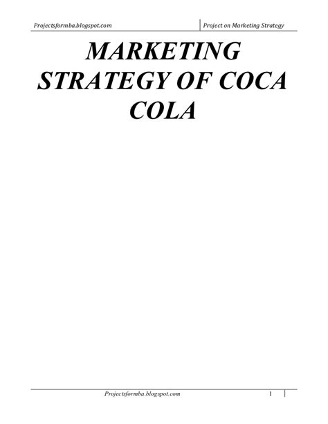 layout strategy of coca cola marketing strategies of coca cola