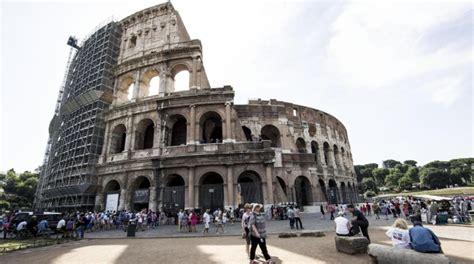 ingressi colosseo colosseo ultimato il restauro delle prime 5 arcate