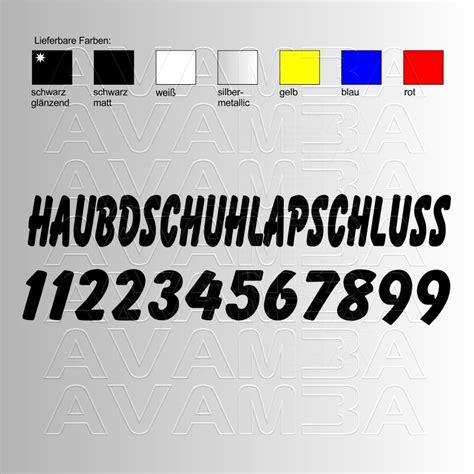 Auto Aufkleber Zahlen by Aufkleber Autospr 252 Che Haupdschuhlapschluss Mit Zahlen F 252 R