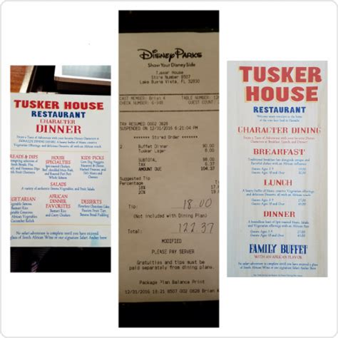 tusker house menu disney s dining plan is it a good deal