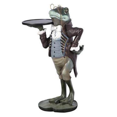 frog butler statues   Our exclusive Frog side table, often thought of as a symbol of luck or