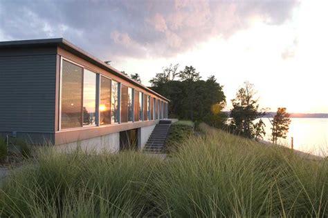Modern Home Design Virginia by River House Virginia Jamaica Residence Usa E Architect