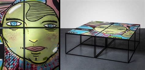 Graffiti Furniture by Graffiti Furniture Brings Into Your Home