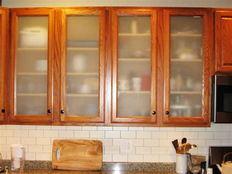 187 Glass Cabinets And Table Tops Frosted Kitchen Cabinet Doors