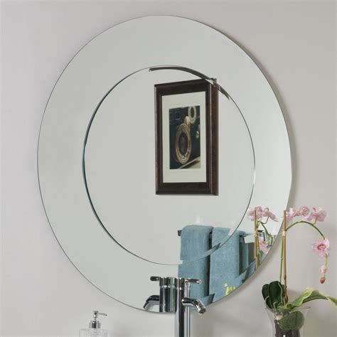 circle bathroom mirror round bathroom mirror with shelves simple home decoration