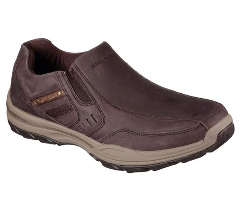 skechers loafers for skechers 65000 dkbr s elment brencen loafers ebay