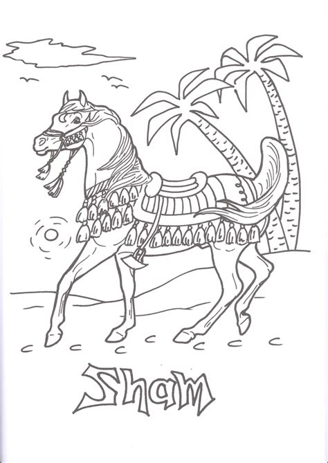 breyer horse pages coloring pages