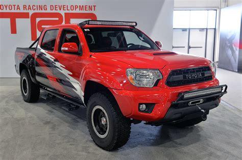Toyota Trd Truck Toyota Trd Pro Trucks Sema 2014 Photo Gallery