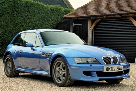 bmw coupe used used 2002 bmw z3m coupe m coupe for sale in oxfordshire