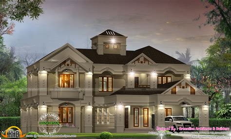 kerala home design colonial luxury villa design in kerala kerala home design and