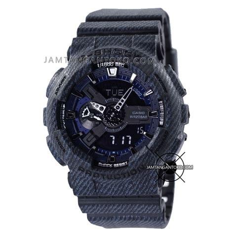 Jam Tangan Gshock Ga110 Ori Bm harga sarap jam tangan g shock ga 110dc 1a black denim