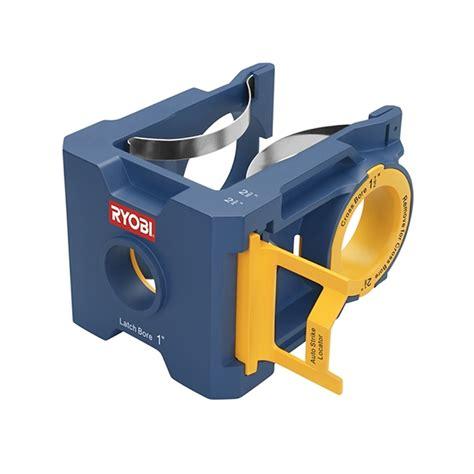 ryobi metal wood door lock installation kit bunnings