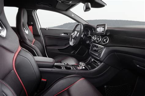 45 Amg Interior mercedes gla 45 amg makes its debut autotribute