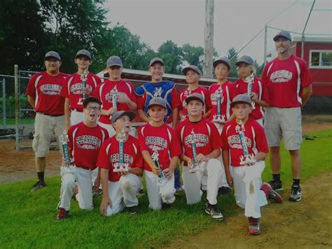 11 12 year old boys all star team includes clearfield 11 12 year old all stars finish summer with