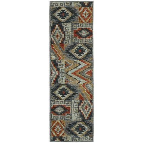 home decorators collection fremont multi 2 ft 3 in x 7