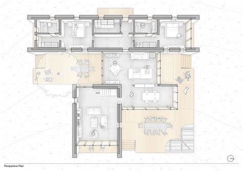 floor plan with perspective house gallery of t house onur teke 16