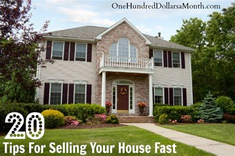 tips for selling your house 20 tips for selling your house fast