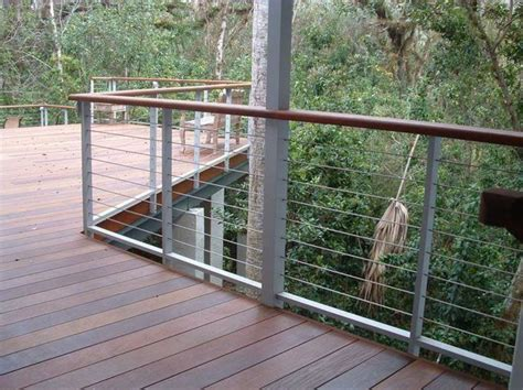 Cable Banister by Cable Railing Ideas With A Sleek Design And Maximum