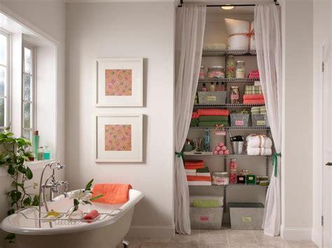 Creative Bathroom Storage Ideas   HGTV