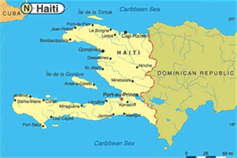 country of haiti map haiti moving to revitalize nuclear technical cooperation