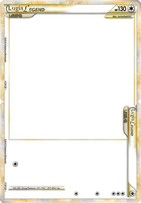 Legendary Card Gimp Template by Hgss Legend Sneek Peek Updated By Aschefield101 On