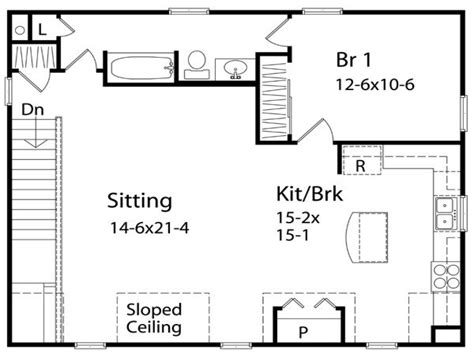one bedroom house plan one bedroom home plans one bedroom cottage home plans one