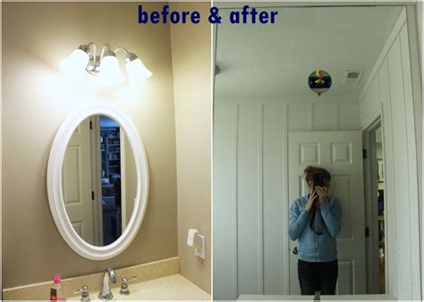installing bathroom light fixture over mirror how to professionally install a bathroom mirror