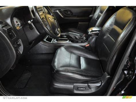 black interior 2005 ford escape limited 4wd photo