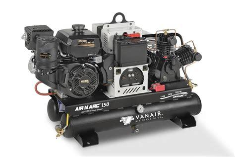 equipment inc vanair compressors generators for trucks