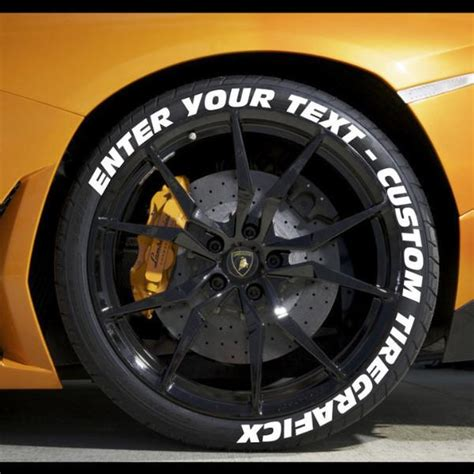 Design Your Own Wall Sticker create your own tire stickers full tire decal kit
