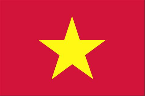 flags of the world with stars vietnam flag and description
