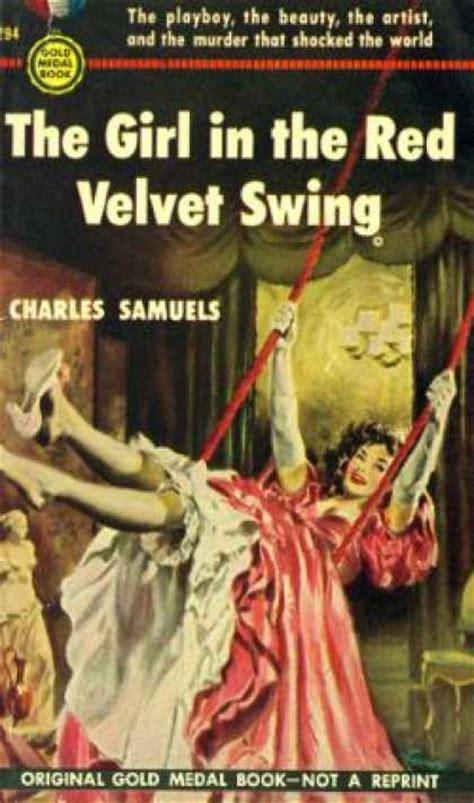 girl in red velvet swing gold medal book covers